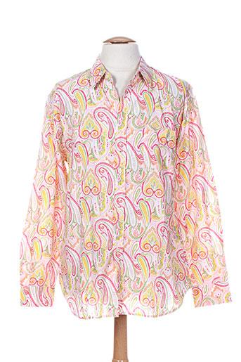 arthur chemises homme de couleur rose