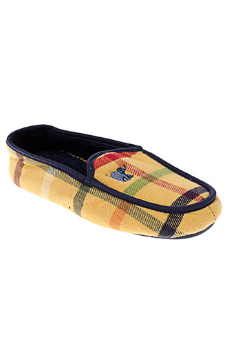 arthur chaussures garçon de couleur jaune