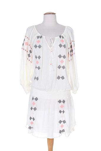 free minds.. robes femme de couleur blanc