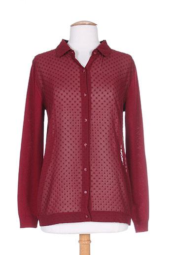 la p'tite etoile chemises femme de couleur rouge