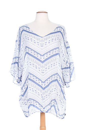 adia chemises femme de couleur bleu