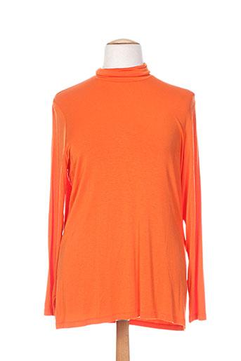 Sous-pull orange ALAIN WEIZ pour femme