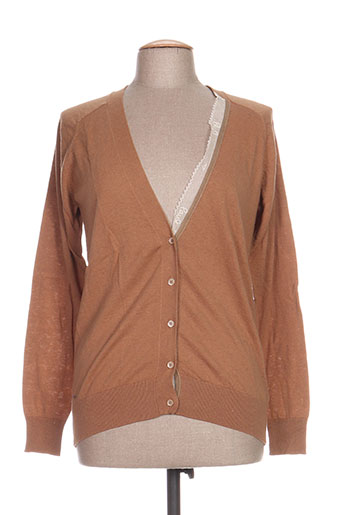 paul smith gilets femme de couleur marron
