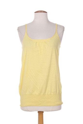 hartford chemises femme de couleur jaune