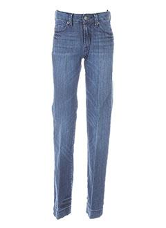 Jeans coupe droite bleu BERENICE pour fille