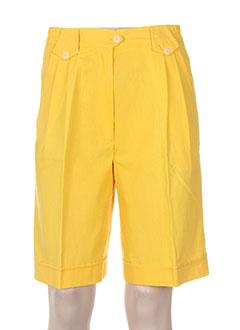 Produit-Shorts / Bermudas-Femme-FRANCOIS DEGASNES