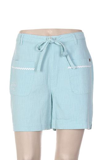 jost shorts / bermudas femme de couleur bleu