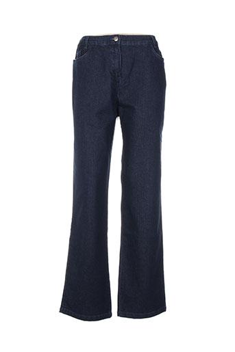 kiplay jeans femme de couleur bleu