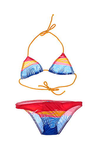 sun beach maillots de bain fille de couleur jaune