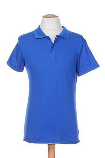 leeyo jeans t-shirts homme de couleur bleu