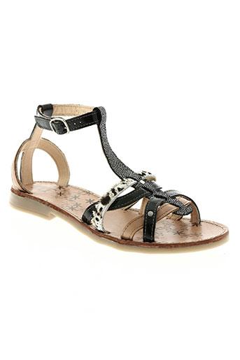 tty chaussures fille de couleur noir
