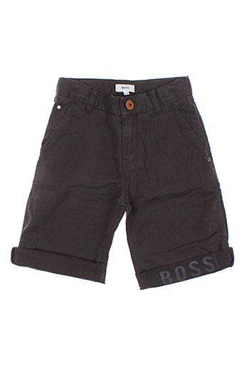 hugo boss shorts / bermudas garçon de couleur gris