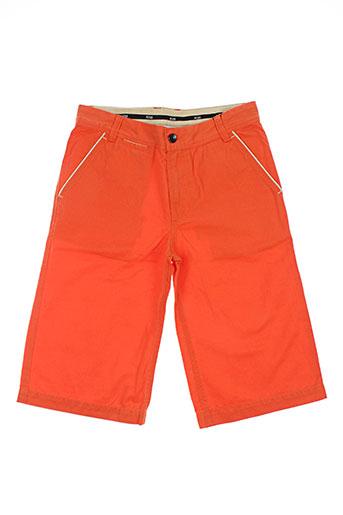 hugo boss shorts / bermudas garçon de couleur orange