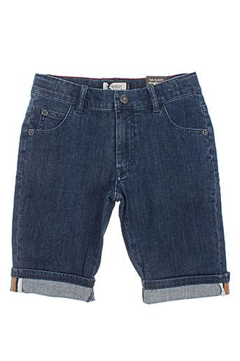 jean bourget shorts / bermudas garçon de couleur bleu