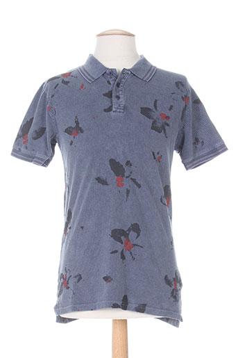 dn.sixty seven t-shirts homme de couleur bleu