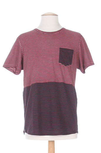 scotch EFFI_CHAR_1 soda t-shirts homme de couleur rose