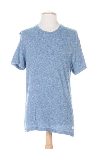 selected t-shirts homme de couleur bleu