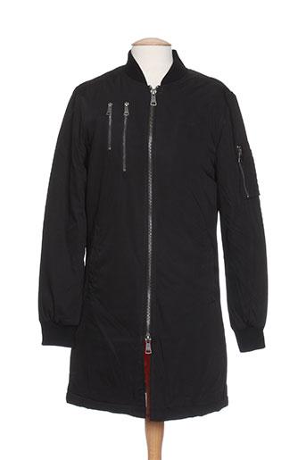 bombers manteaux homme de couleur noir