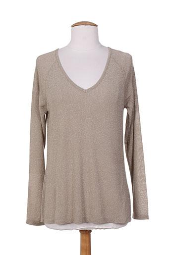 pako litto chemises femme de couleur gris