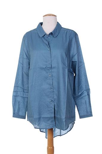 school rag chemises femme de couleur bleu