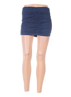 Jupe courte bleu FORNARINA pour femme