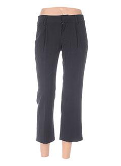 Pantalon 7/8 noir FORNARINA pour femme