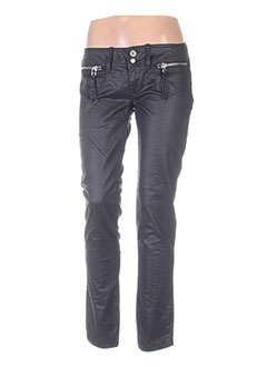 Pantalon casual noir FORNARINA pour femme