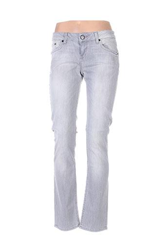 ltb jeans femme de couleur gris