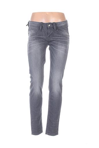 fornarina jeans femme de couleur gris