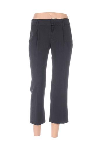 fornarina pantalons femme de couleur noir