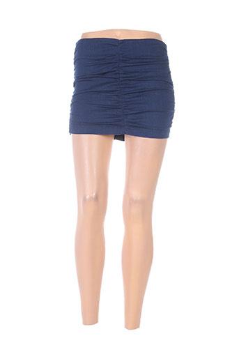 fornarina jupes femme de couleur bleu