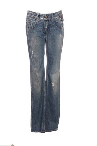 fornarina jeans femme de couleur bleu