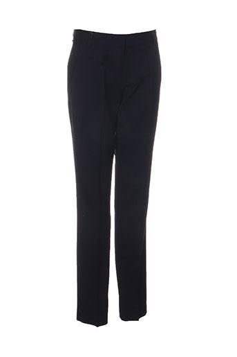 chloé stora pantalons femme de couleur bleu