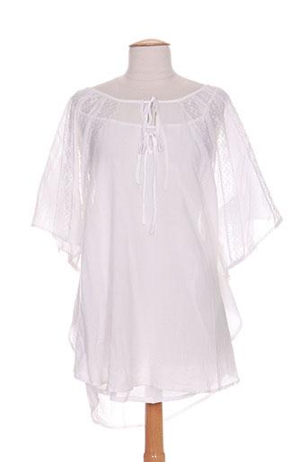 izi mi porto-vecchio chemises femme de couleur blanc