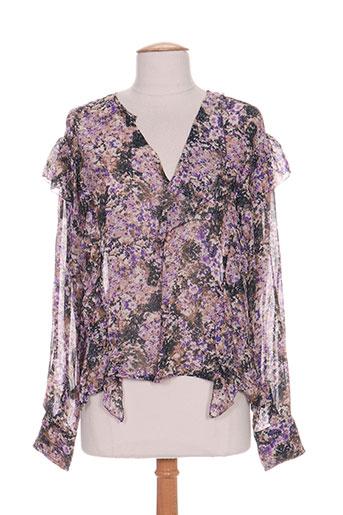 isabel marant chemises femme de couleur violet