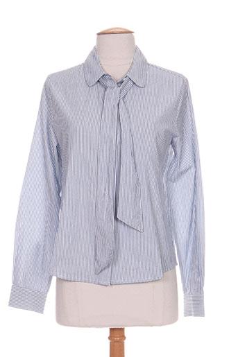 petite mendigote chemises femme de couleur bleu