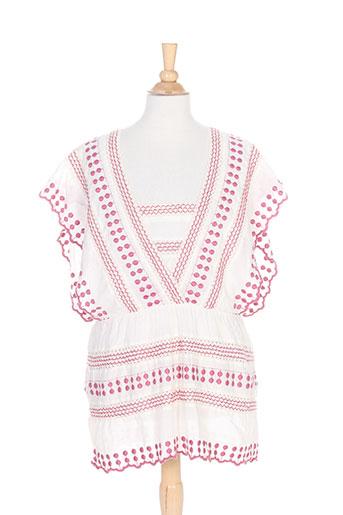intropia chemises femme de couleur rose