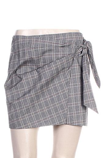 isabel marant jupes femme de couleur gris