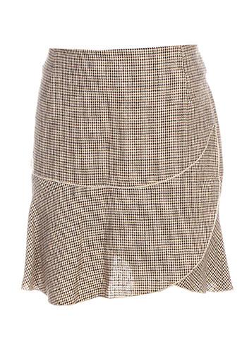 Jupe courte beige ISABEL MARANT pour femme