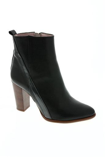coralie masson chaussures femme de couleur noir