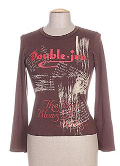 Produit-T-shirts-Femme-DOUBLE JEU