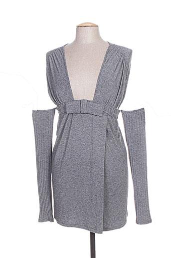 rinascimento tuniques femme de couleur gris