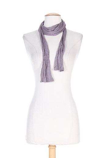 Echarpe violet BANDE ORIGINALE pour femme