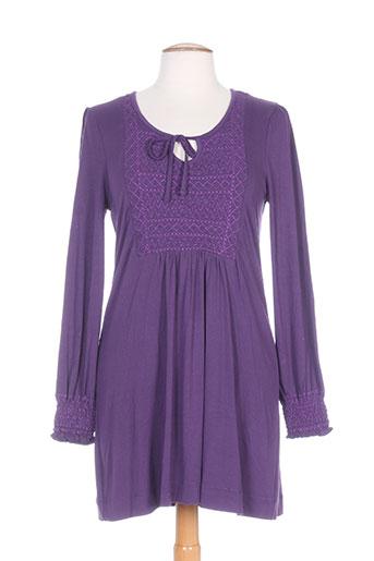 dixit tuniques femme de couleur violet