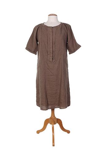0039 italy robes femme de couleur marron
