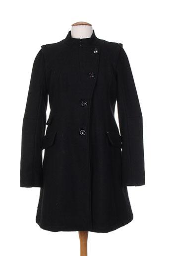 ddp manteaux femme de couleur noir