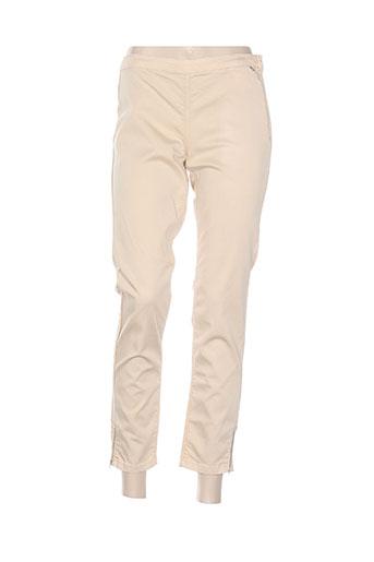 Pantalon 7/8 beige MADO ET LES AUTRES pour femme
