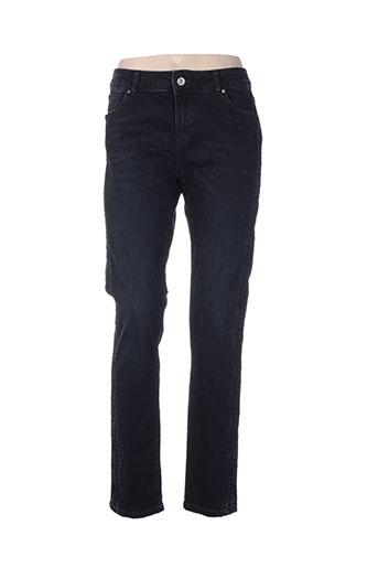 et compagnie jeans femme de couleur bleu