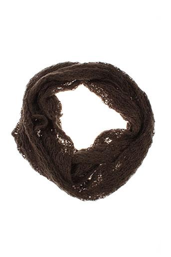 yaya accessoires femme de couleur marron