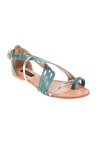 torrente chaussures femme de couleur vert